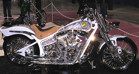 The Second Amendment Custom Harley Motorcycle